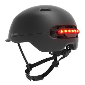 Smart4u SH50 Bisiklet Bisiklet Kaskı Akıllı Flaş Kask Akıllı Arka LED Işık İçin Bisiklet Scooter Electic Kaykay