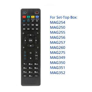 Para Mag250 Mag322 W1 controle remoto universal substituição IR inteligente controlador remoto para Mag 254 255 260 261 270 TV Set Top Box