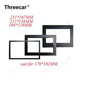 автомобиль рама для универсального 2 Din авто радио / андроид плеер Рамы Переоборудования Декоративных рамок 178 х 102мм панели