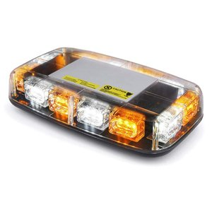 30W Weiß / Gelb 36 LED Notfall-Warnung Flash-Roof Top LED Strobe Light Bar