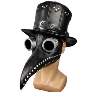 Designer Mask Doctor Hat Rivet Black Fashion Accessories Casual Unisex Hot Sell Costumes Cosplay Punk Beak Halloween