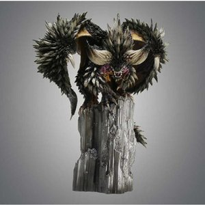 Monster Hunter World Endless Dragon Nergigante 33CM PVC Action Toy Figures Collection Decoration Kids Toy Gift