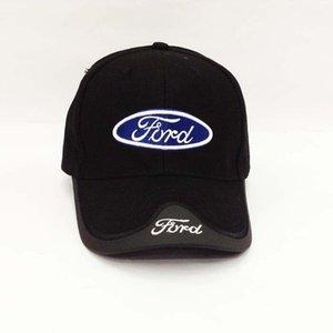 Nuovo arrivato cotone da uomo New New Mustang Toyota Cadillac Berretto da baseball Moda Cappello da sole cliente come i colori blu nero Y19070503