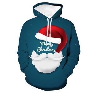 3D De Noël À Capuche Sweat Hommes Femmes 2019 Automne Nouveau Harajuku Xmas Hoodies Sweat Hommes Marque Casual Sweat À Capuche Sweat pour Cadeau