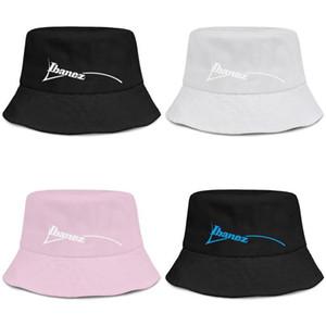 Schwarz Ibanez Logo-Emblem für Männer und Frauen buckethat Arten netter Eimer baseballcap Symbol Zeichen Gitarren Logo