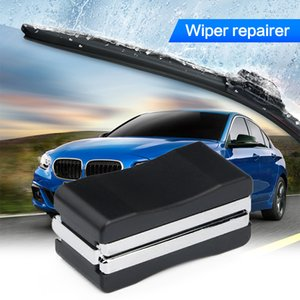 Universal Auto Car Vehicle Black Windshield Wiper Blade Refurbish Repair Tool Restorer Windshield Scratch Repair Kit Cleaner