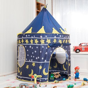 Bir Taşıma Çantasına içine Düzgünce Katlanarak, Kapalı ve Açık for Fun Kale Çadırı kadar Prenses Pop için Tent oyna