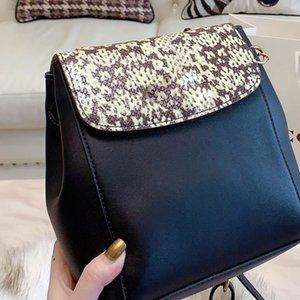 Mochila feminina bolsa bolsa bookbags bolsa de bolsa de ombro saco macio de ombro cobertura de transporte cor de moda de cor matching muchf
