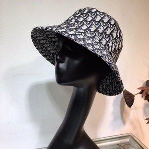 2020Luxury DesignerMarken-Art Baseballmütze Sommertour Sonnenschirm Hut Brief Stickerei FischerDIOR Hut für Damen