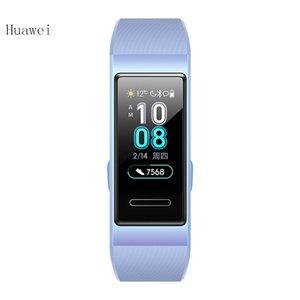 Orijinal Huawei Band 3 Akıllı bilezik nabız Monitörü Akıllı saat spor Izci spor su geçirmez Akıllı kol saati Android iPhone için