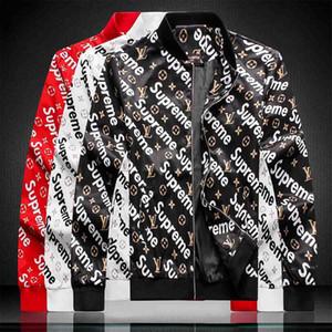 2019 Männer Jeansjacke Modedesigner Jacke Luxuy Marke dünnes Motorrad-verursachende Mens Denim Coats Hip Hop Vintage Style Jeansjacke
