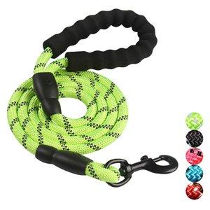 accessori per cani accessori per cani 5 corda di trazione FT Guinzaglio forte per cani Comodo manico imbottito Filamenti altamente riflettenti Cani di taglia media