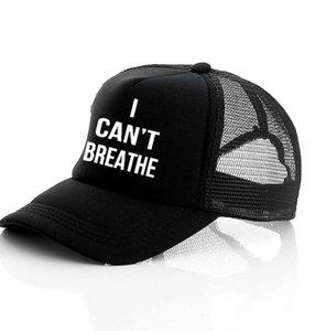 Non riesco a respirare cappello nero VITE MATERIA, giustizia per George Floyd del cappello di Snapback Uomini Berretto da baseball cappello da sole LJJK2159