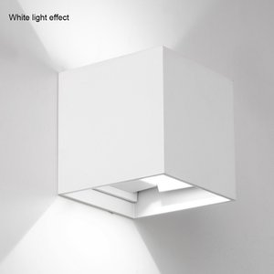 Adjustable Light Cube Led Light Wall Lamp Waterproof Modern Home Lighting Outdoor Decor for Bathroom Wandlamp Garden Porch