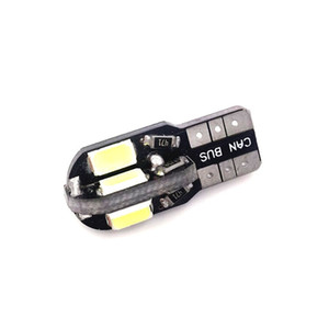 10 ADET T10 W5W158194LEDSide Marker Işık T10 CAN-otobüs LED Ampul 5630 8SMD LED T10 LED Plaka Işık