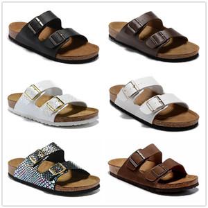 L'Arizona 2019 nuovi pattini casuali delle scorrevoli di colore misto delle donne dei sandali di vibrazione della pantofola del sughero della spiaggia di estate si dirigono liberamente US3-15