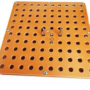 Bandeja de los soportes de exhibición de la baquelita Vape del atomizador para el tanque de aceite 100pcs 92A3 cartuchos AC1003 Bandeja de Vape del atomizador para el relleno del aceite del vaporizador