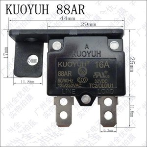 Taiwan KUOYUH Overcurrent Protector Overload Switch Automatic Reset 16A 88AR Series With Bracket