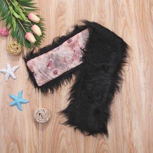 Mujeres nueva imitación piel de zorro cuello bufanda collar de cuello de mujer multicolor otoño moda y cálido invierno chal bufandas
