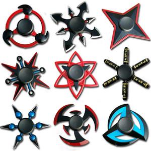 Naruto Naruto Finger Spinner Tri Cross Fidget Metal Spinner Toy EDC Filler, Children / Adult Toy While Gyroscope