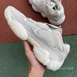 brand fashion luxury off men women Kanye designer platform basketball for mens 500 bone white sneakers Casual loafer star casual shoe 08r