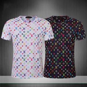 2020 Печать мужчины Tshirt моды Medusa тенниска втулки краткости лета вскользь Tops Хрустальные черепа T-Shirt Design Марка Mens Tshirt
