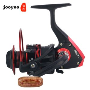 5,5: 1 alta velocidade Pesca Reel Série 12BB Reel punho de madeira Metal Head Reel Fishing Gear Wheel Máquina Reservoir Pond