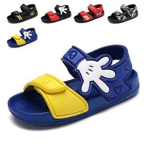 Nova Listagem 2019 Verão New Non-Slip Beach Shoes abertos Sandálias infantis Meninos selvagens Estudante Sapatos infantis