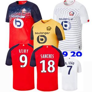 Camisetas de fútbol para hombres y niños de Lille OSC 2019 2020 J.IKONE SANCHES REMY BAMBA R.LEAO local lejos 3er 19 20 Camiseta de fútbol para niños