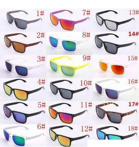 Occhiali da sole di lusso UV400 Protection 9102 Occhiali da sole sportivi Uomo Donna Unisex Summer Shade Eyewear Outdoor Cycling Sun Glass 18 colori