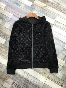 Winter brand 2020 Men Zipper sportswear Sportswear Sweatshirts Jogger Sporting Suit Mens Sweat Suits Tracksuits 2PCS Set Plus Size M-3XL