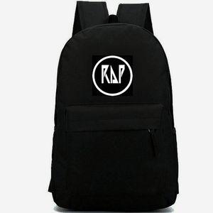 Rap Rucksack Free Style Daypack 600D Schultasche mit Nylondruck Musikrucksack Lässige Schultasche Outdoor Daypack