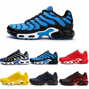 Nike Air Max Flyknit TN PLUS Vente Running Shoes Colorways Maschio pacchetto Chaussures Sport Tns Mens Sneakers FLY