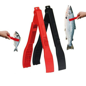 Plástica portable Útil Controlador de la carrocería Fish Grip Pesca Pinza de bloqueo de cambio de bloqueo Holder Grabber