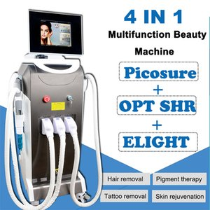 Multifuction IPL Elight OPT laser Permanent Hair Removal Elight Skin Rejuvenation Machine picosecond laser tattoo removal