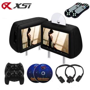 XST 2PCS 10.1 pollici sede di automobile poggiatesta Monitor DVD posteriore dell'automobile di lettore multimediale DVD con FM / IR / USB / SD (MP5) / senza fili del gioco / HDMI Port