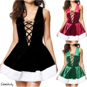 2019 Sexy Lingerie Lace Mulheres Silk Robe Vestido Underwear Bandage Babydoll Nightdress Pijamas