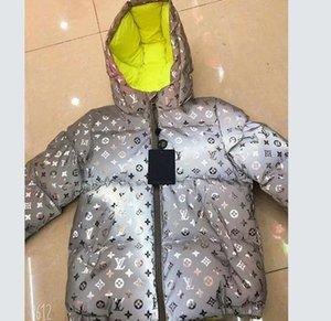 A09 Lüks Bebek Boys Aşağı Ceket Bebek Boys Kapşonlu Coat Çocuk Giyim Sıcak Kalın ceketler Bebek Kız Erkek Giyim Kabanlar çift taraflı.