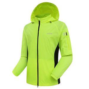 OUTTO Maillot Veste Coupe-Vent Vélo Manches Longues Vêtement Vêtement et Equipement de Randonnée Vélo Windcoat Quick Dry