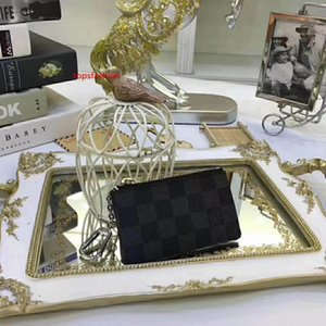#7847 5A Hot Brand Classic Design Men Women Key Wallet Key Pouch Charm Damier Canvas Keys Case Wallets Key Ring M62650 N62658