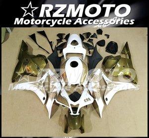2009 2010 2011 oro blanco carrocería conjunto personalizado de moldes de inyección de alta calidad del nuevo ABS llena de la motocicleta carenado Fit Kit para Honda CBR600RR F5 2012