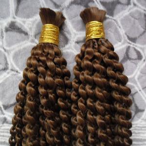 브라질 꼬기 헤어 대량 더 씨실없는 2 번들 대량 아프리카 변태 곱슬 꼬기 헤어 200G 털도 없음 씨실 인간의 머리 대량
