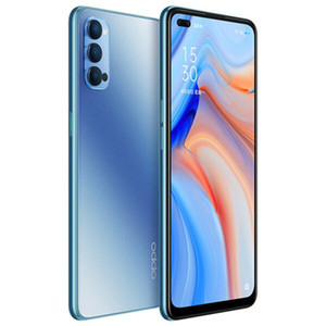 "Original Oppo Reno 4 5G LTE Mobile Phone 8 GB de RAM 128GB 256GB ROM Snapdragon 765G Octa Núcleo Android 6.4"" Phone 48MP Fingerprint ID inteligente celular"