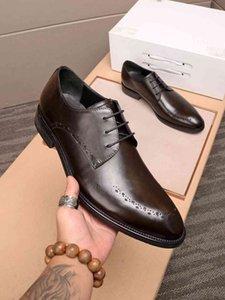 cuoio casuale scarpe italiane vestito da affari moda moda riva causale della moda uomo