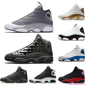Cap And Gown 13 13s Mens Basketball Shoes Bred Class of 2003 He Got Game Men Designer Trainer Sports Sneakers Size 41-47