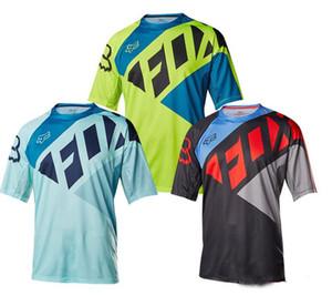 FOX TLD قصيرة الأكمام تي شيرت الملابس انحدار MTB الدراجات الملابس MTB-قصيرة الأكمام جيرسي