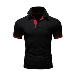 2020 Fashion Mens Designer Polo Shirts 2020 New Summer Men Brand Polos Breathable Slim Short Sleeve T Shirt 10 Colors Size S-5XL