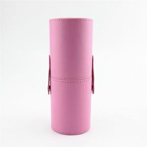 PU Leather Travel Cosmetic Brushes Pen Holder Storage Empty Holder Makeup Artist Bag Brushes Organizer Make Up Tools