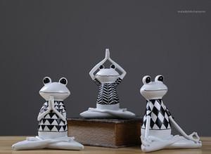 Yogo Frog Resin Novelty Items Designer Times Impression Fashion Art Crafts Lovely Smile Frog Brothers Home Decoration