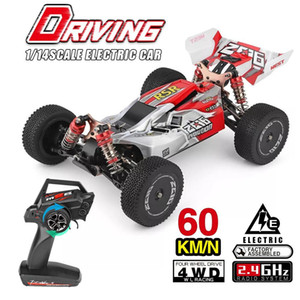 WLtoys 1 14 144001 RTR 2.4GHz RC Car Scale Drift Racing Car 4WD Metal Chassis Shaft Ball Bearing Gear Hydraulic Shock Absober Y200413